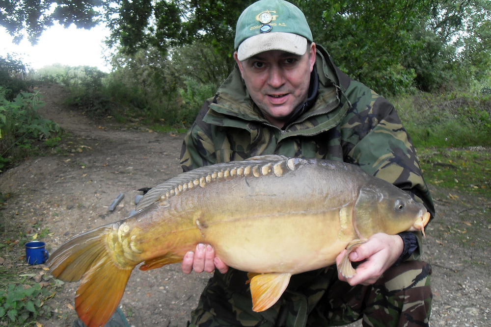Gary's biggest at 18lb 5ozs and bringing us up to 10 carp for the session