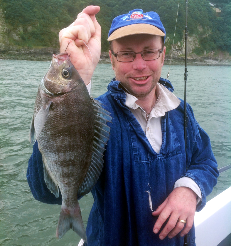 'PJ' Smith finally gets his black bream