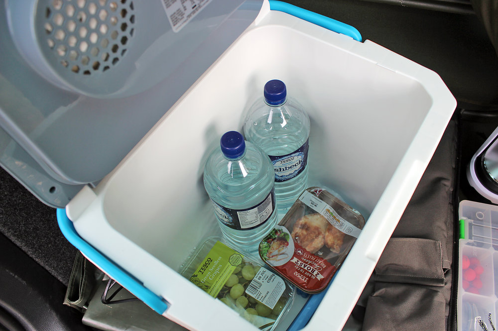 There's plenty of room for your food and drink in this versatile cool box