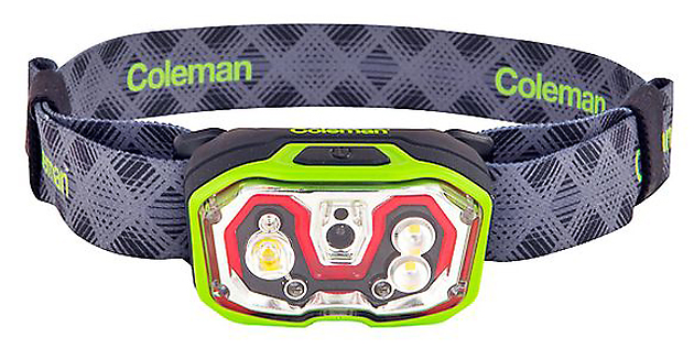 The CXS+300 Rechargeable LED head torch puts out 300 lumens