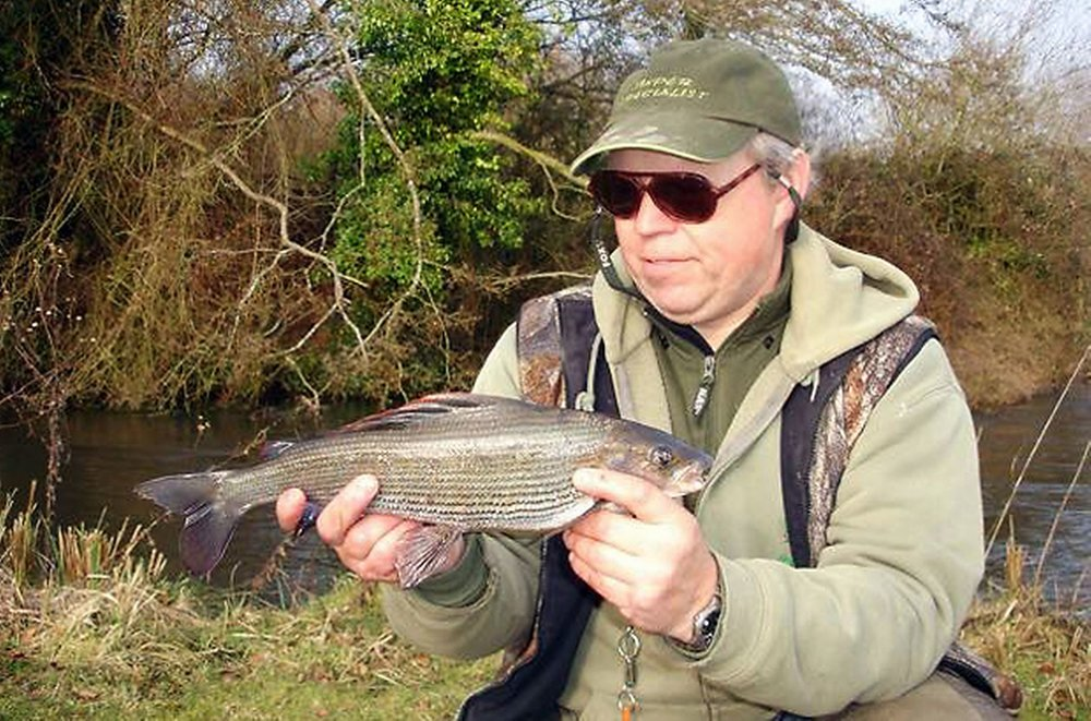 Steve Frapwell managed grayling of 1.08, 1.14, 1.12, and 1.03