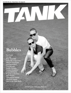 Tank Magazine Volume 8 Issue 7 - Spring 2016