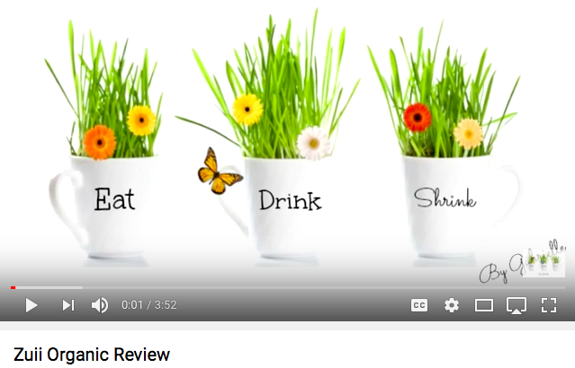 Eat.Drink.Shrink  Contributor - Product Review - Zuii Organic