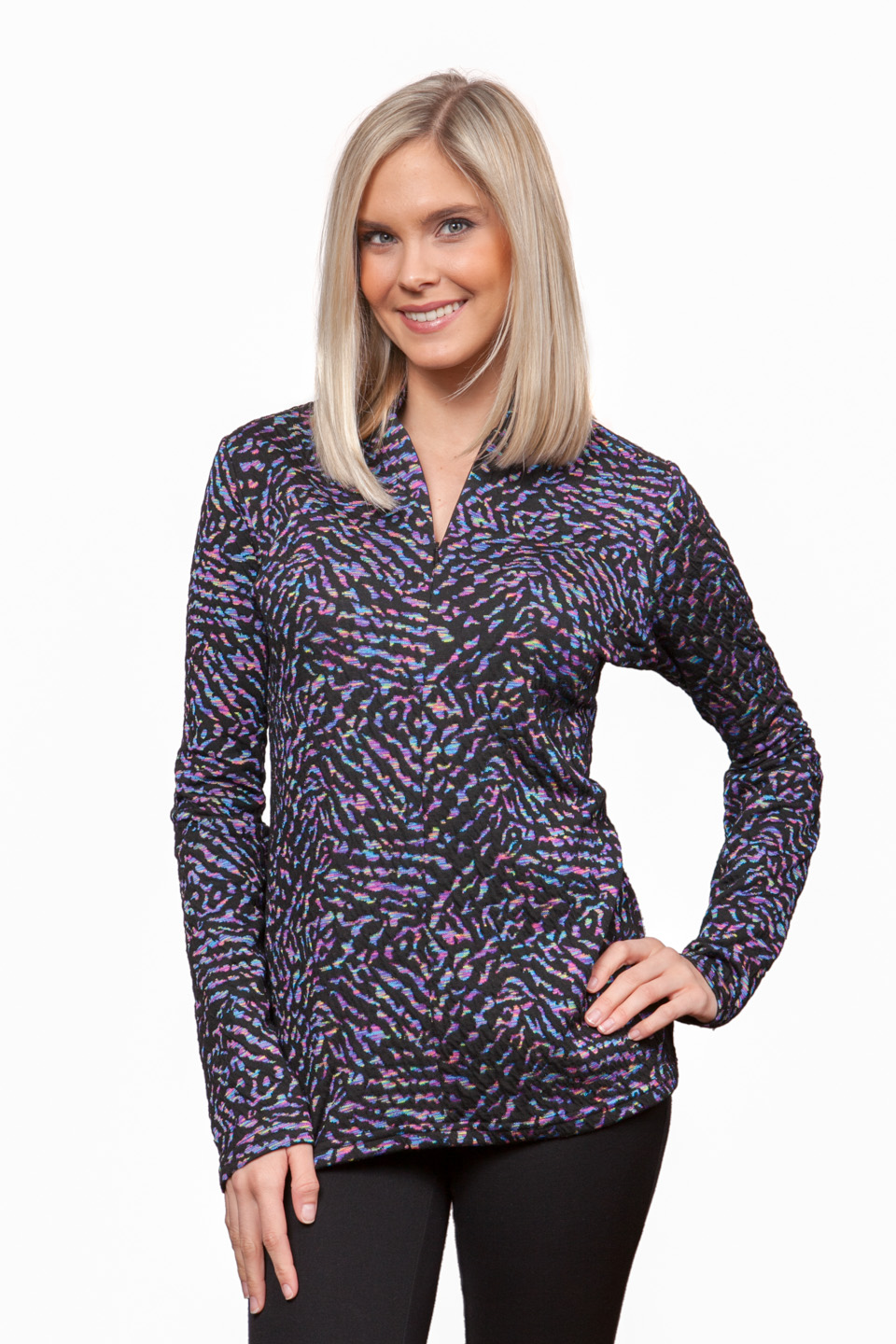 Copy of Style # 62117-16, p. 11<br>Colorful Jacquard<br>Pattern: Midnight Sky<br> &nbsp