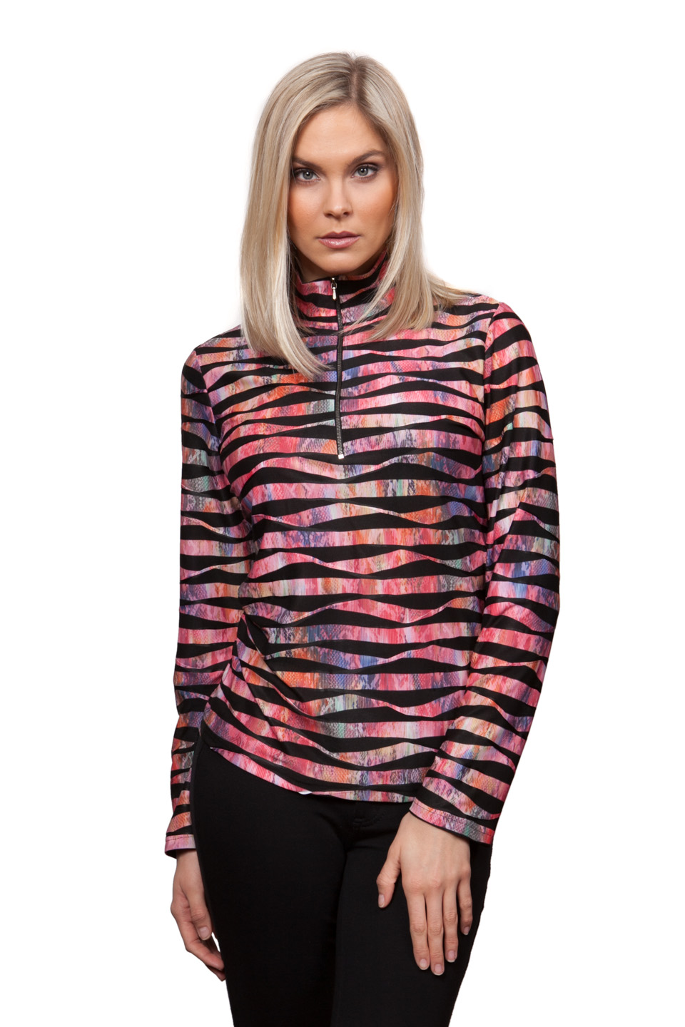 Copy of Style # 45287-16, p. 8<br>New Twisted Prints w/Bolder Stripe<br>Print: Cosmo, 4 patterns
