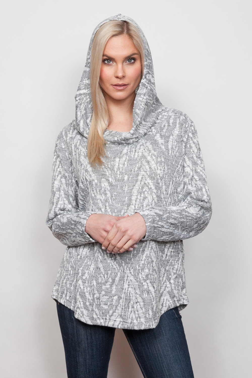 Copy of Style # 39434-18, p 11 </br>Snow Cat French Terry </br>Color: Grey Heather