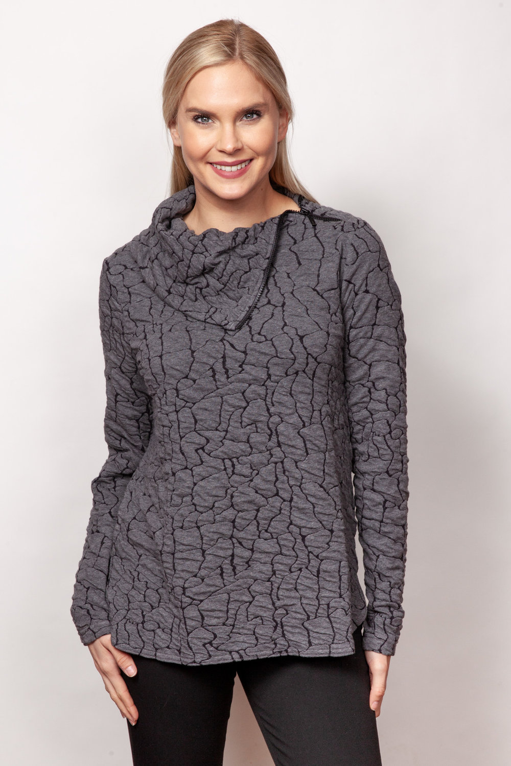 Copy of Style # 80356-19, p 9 <br/>Blister Knits <br/>Colors: Charcoal + 2 others