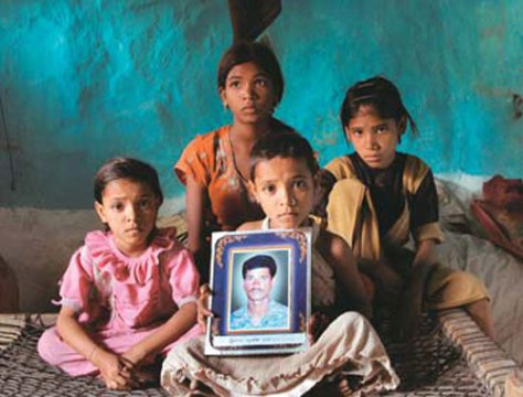 family of Vidarbha farmer suicide