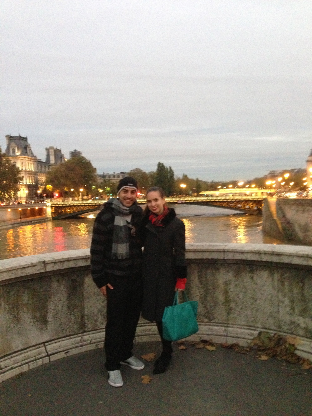 My college-pal Jarah heats up Paris, all the way from from Kuwait.