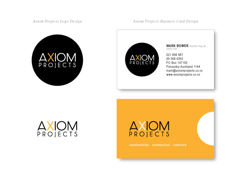 AXIOM PROJECTS LTD  |  design