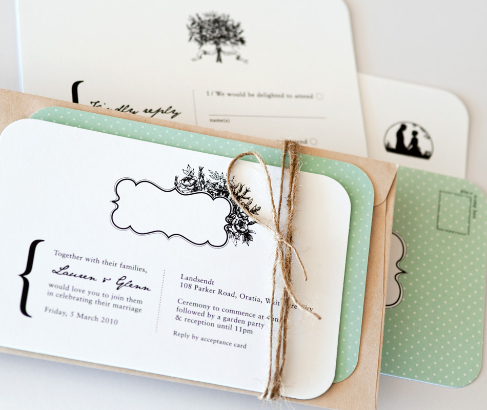 DESIGN & PRINT - Wedding Stationery
