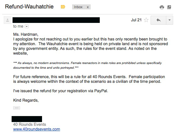 Note: The name of the author of this email has been redacted to protect his privacy.
