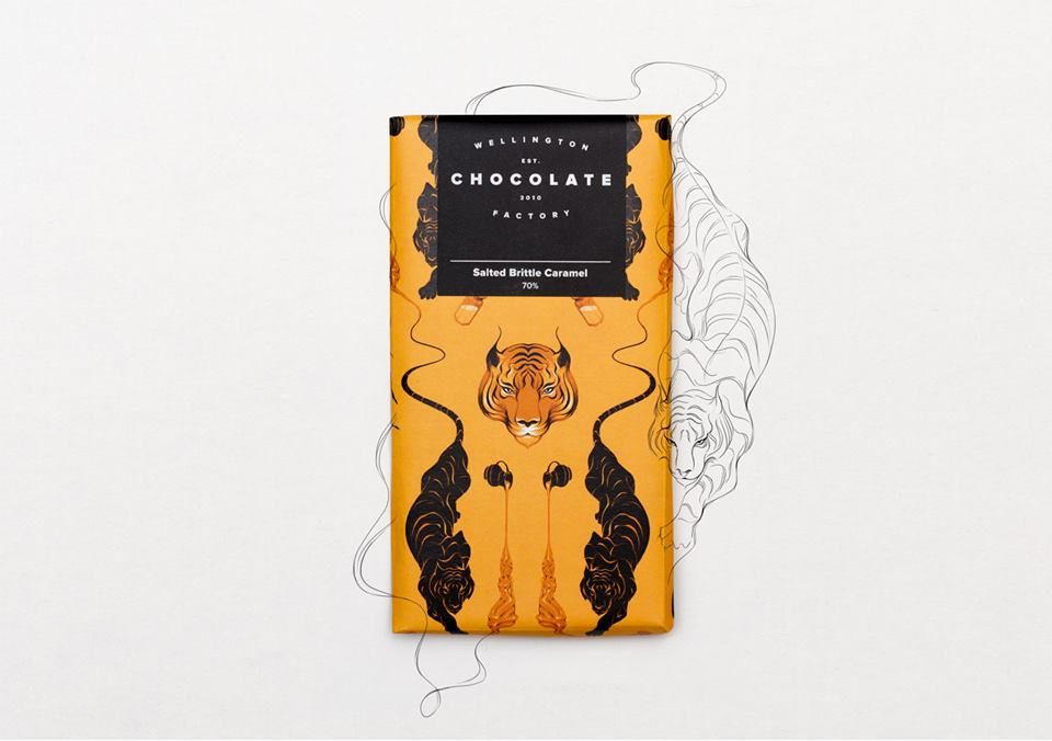 Wellington Chocolate Factory Salted Caramel with MOTIF