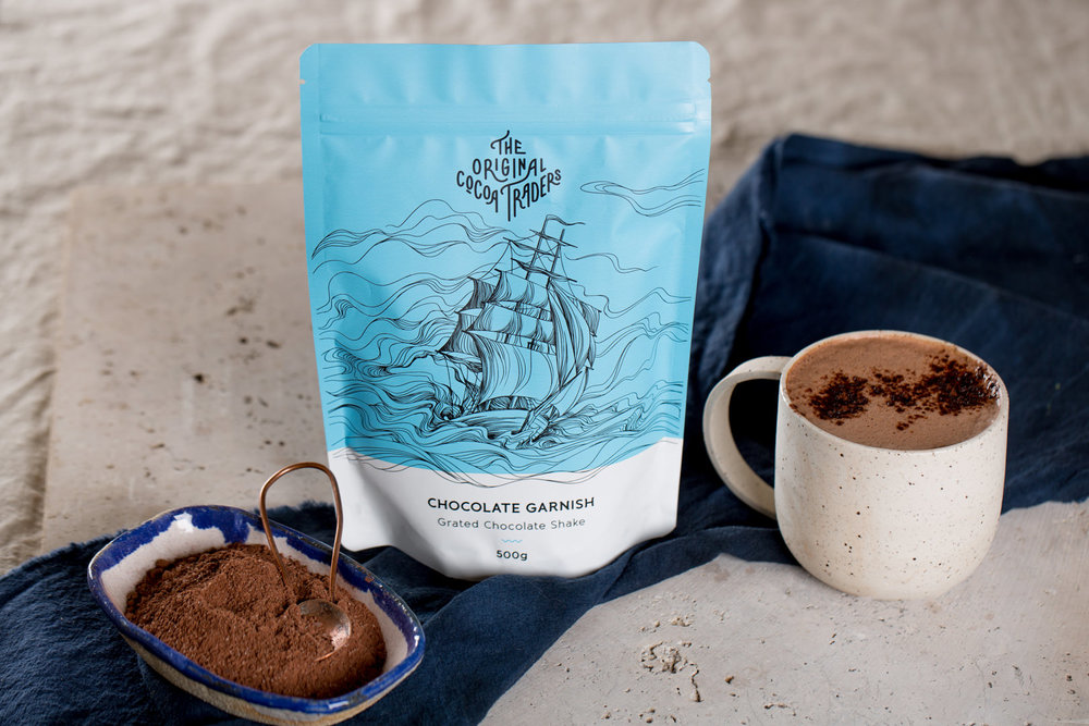 Add this chocolate garnish to your bucket list.