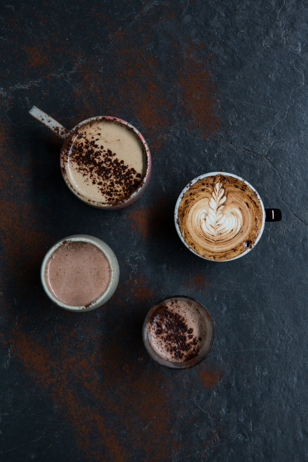 How do you like your hot cup of cocoa? An assortment from TOCT.