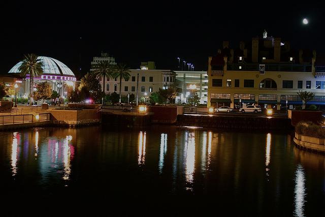 Downtown Stockton, photo taken July 31, 2010