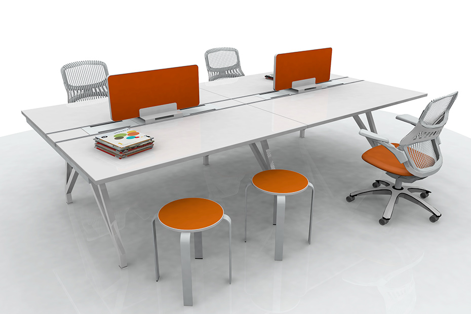 Bolla Core Task Stools with EYHOV Desk