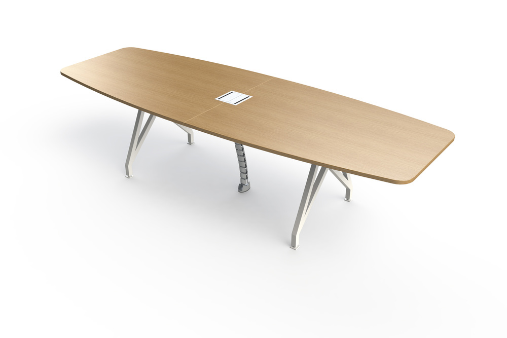 Kayak Conference Table Wood