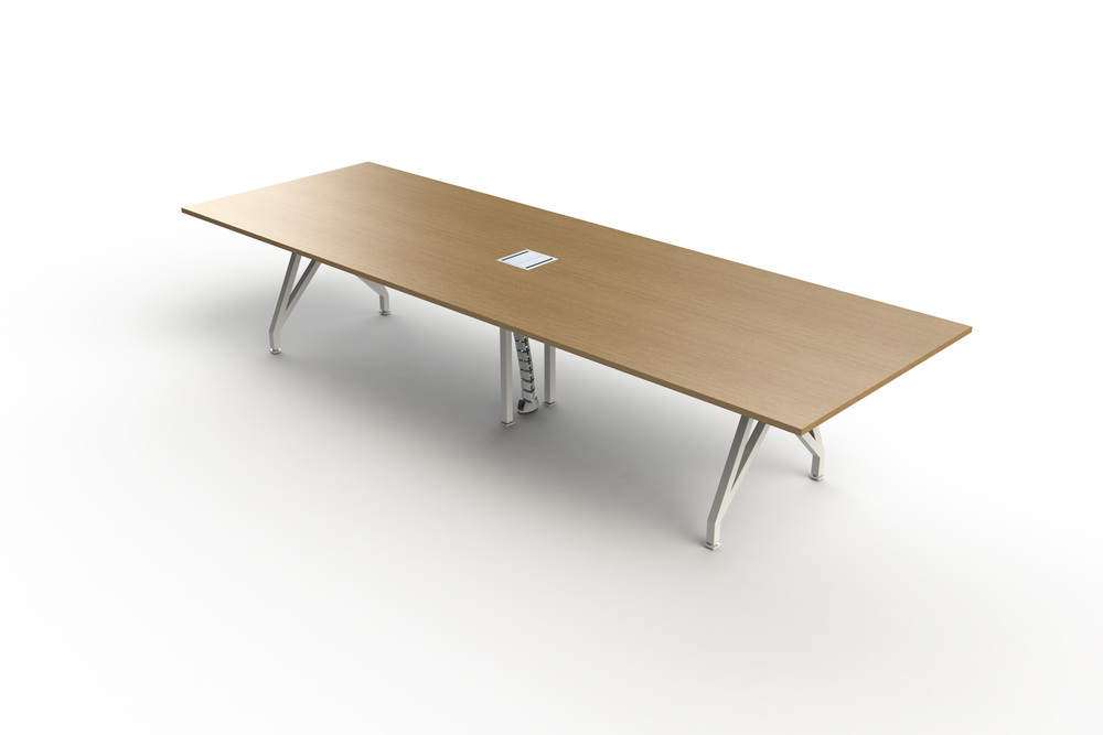Think Tank Conference Table Wood