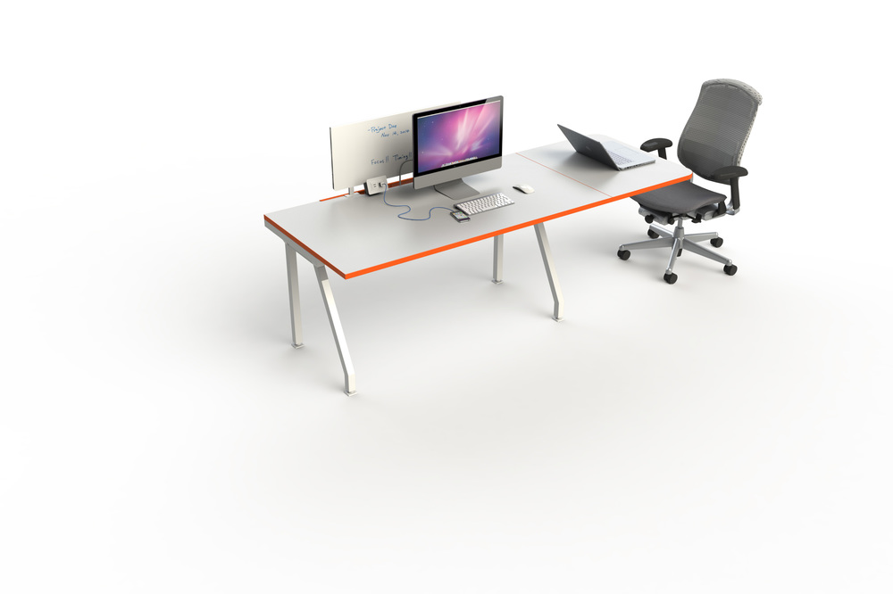 G Series Single Desks Workstations