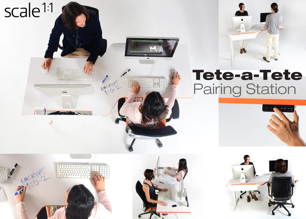 Click on Image to VOTE  for the Tete-a-Tete Pairing Station