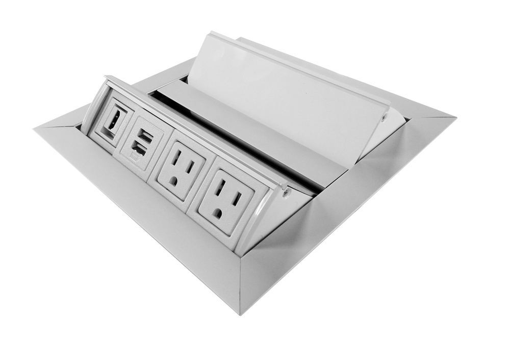 Conference Table Power and Data Units -    Pop-Up