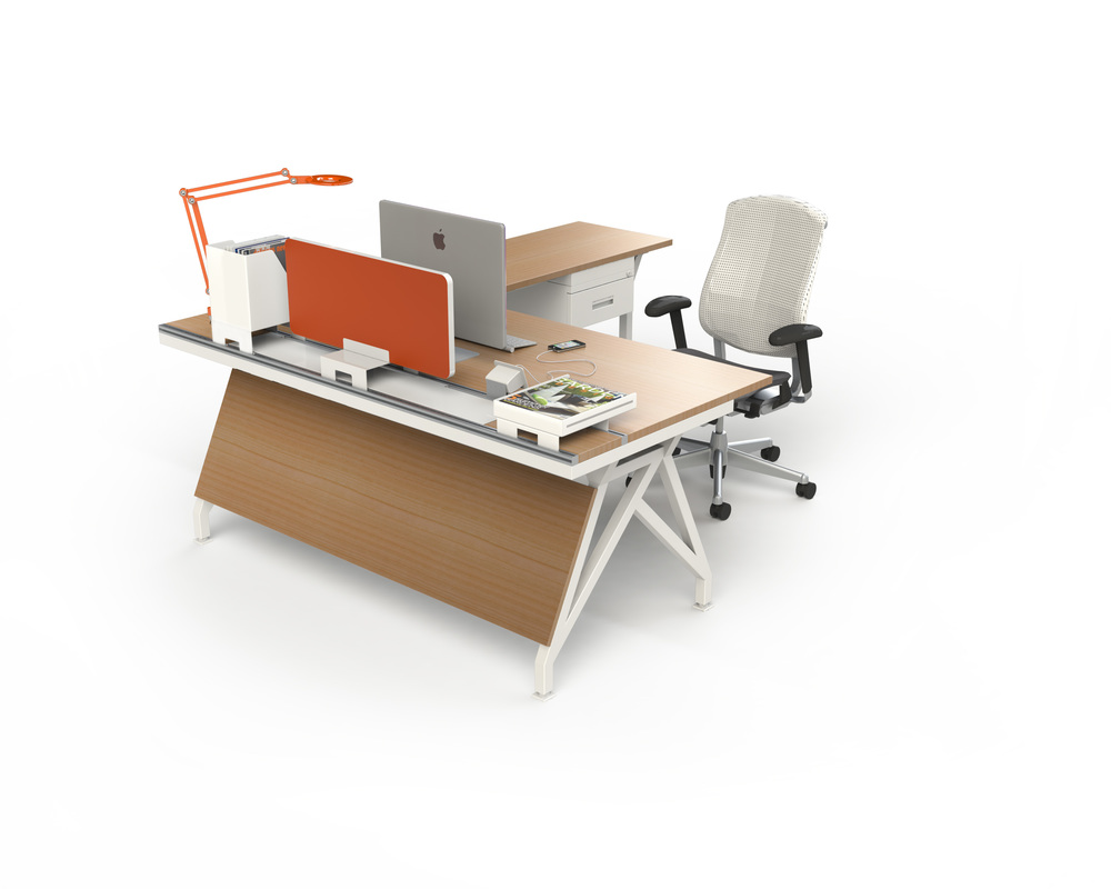 EYHOV Single Workstation Desk