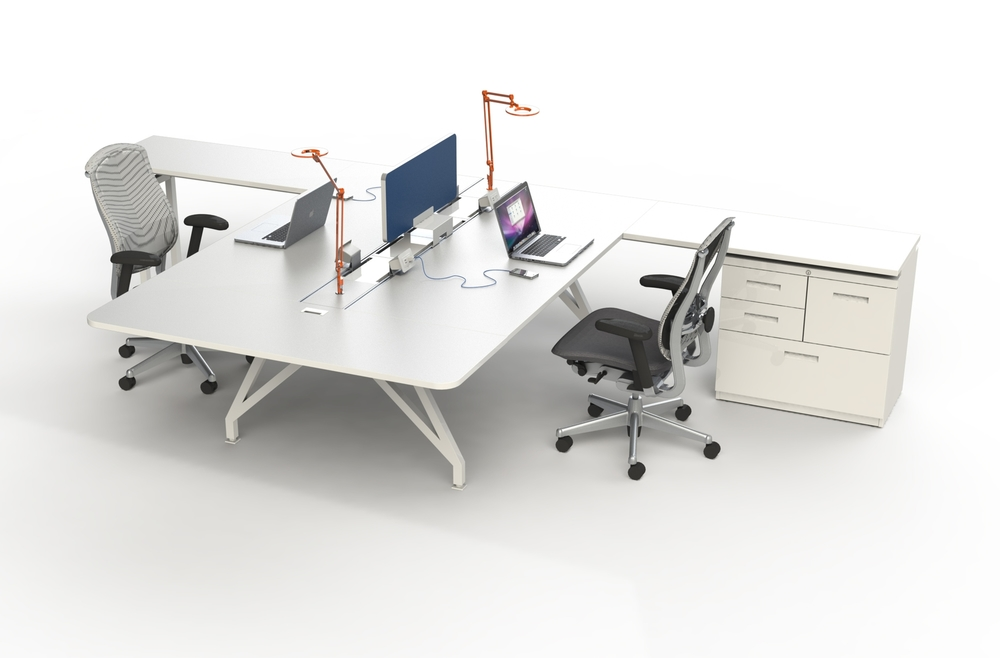EYHOV Double Desk Workstation