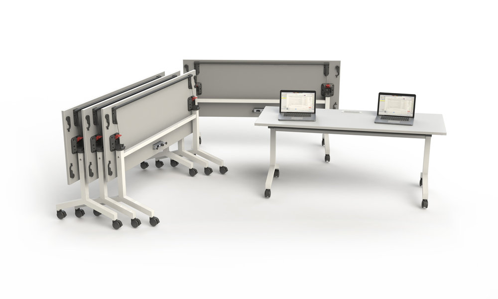 Training Table Training Table_6Ft_with Power Training Table_6Ft_Folded_with Power