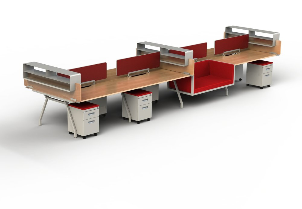 G series nester built in desk lounge