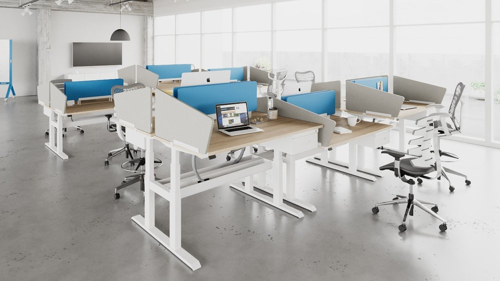 wiiRise Height Adjustable Desks