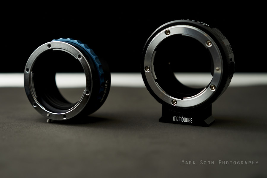 Novoflex Nikon G to NEX Adapter vs. Metabones Adapter