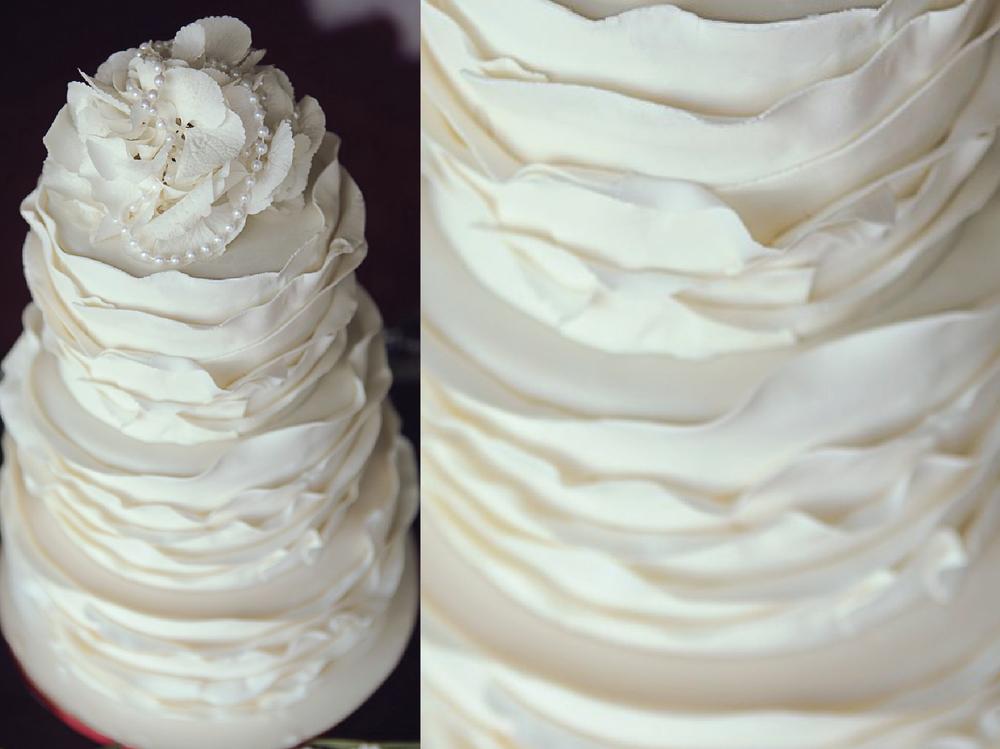Белоснежный торт