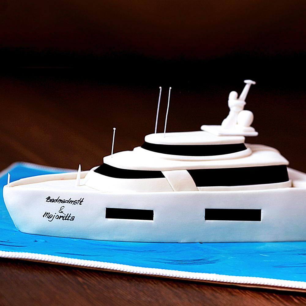 Торт яхта