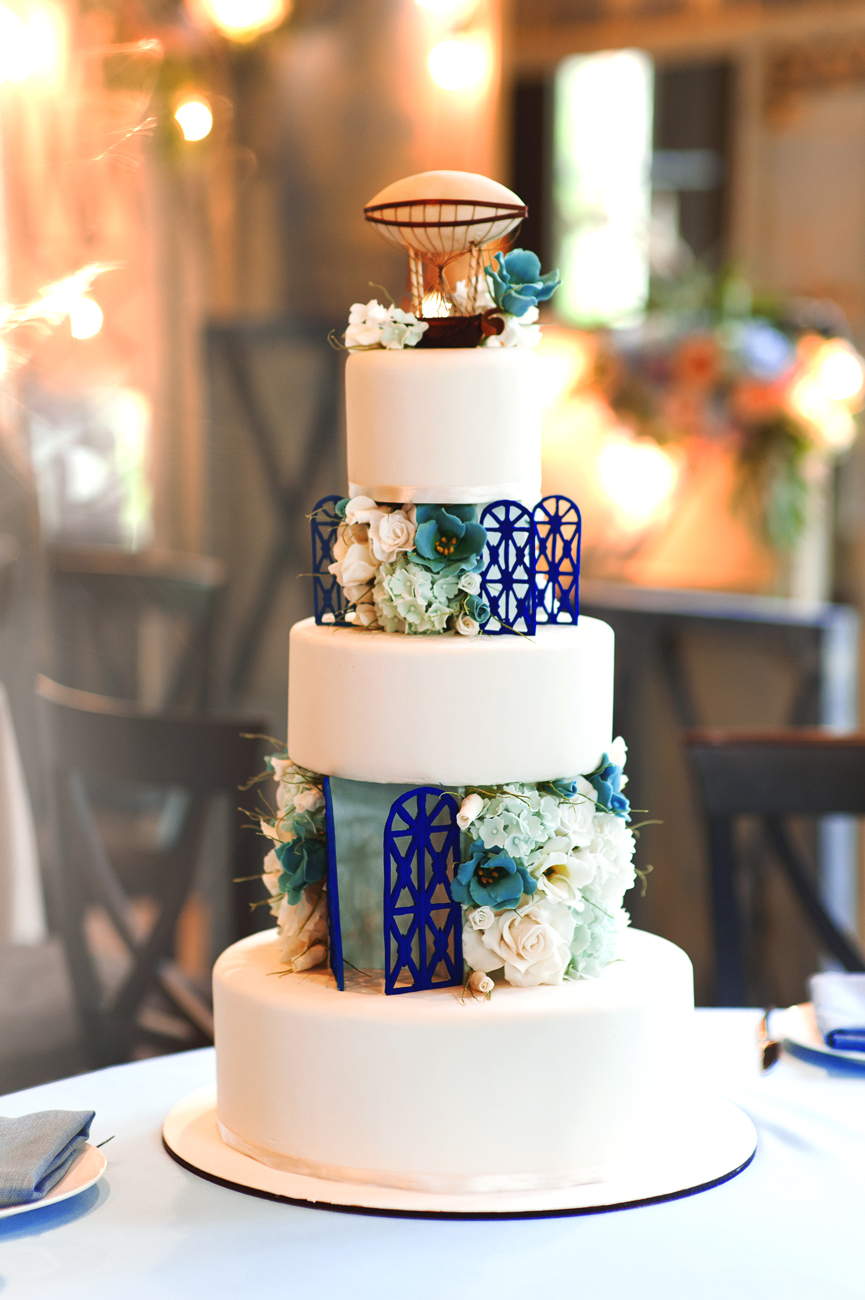 Торт для свадьбы путешествия