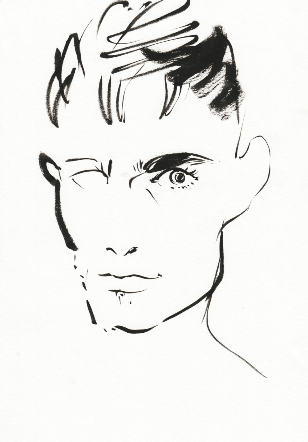 Joshua Osborn Self Portrait August 2018