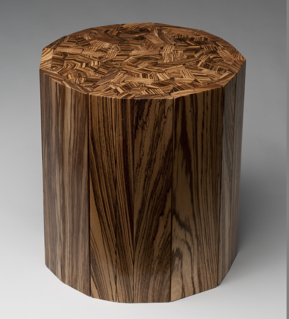Lovely Zebrawood End Table