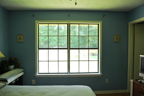 The bare window