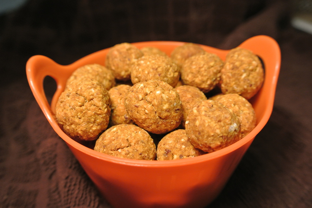 Harvest Pumpkin Balls