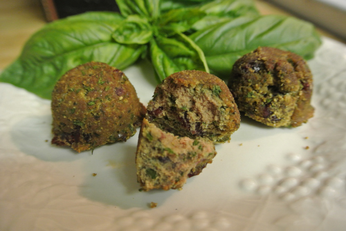 *Chicken Liver Meatballs