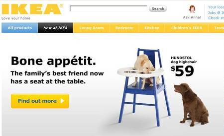 IKEA Hundstol highchair