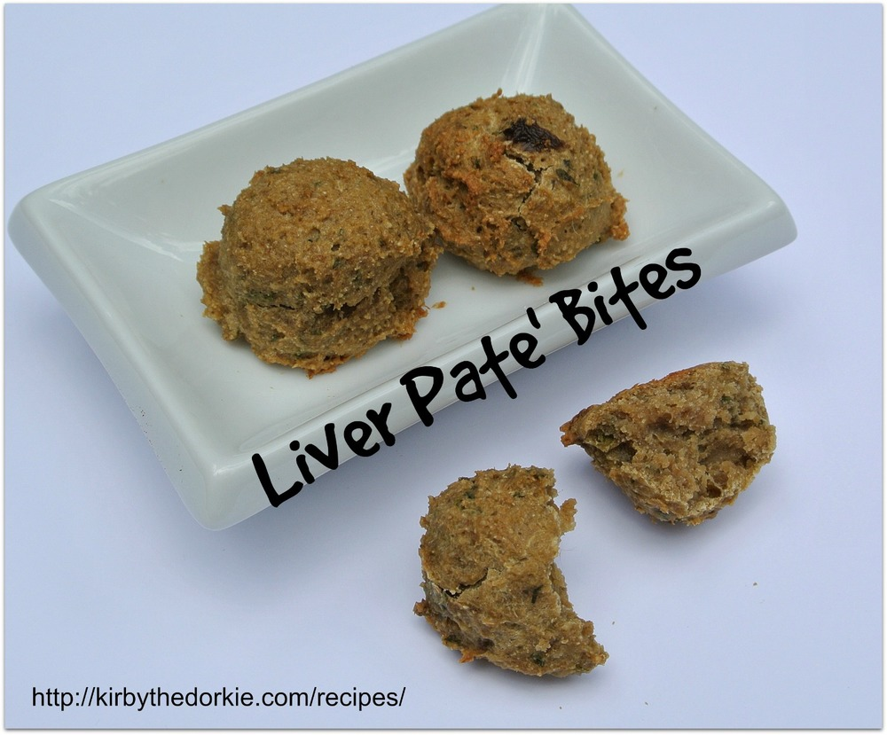 Baked Liver Treats For Dogs Recipe