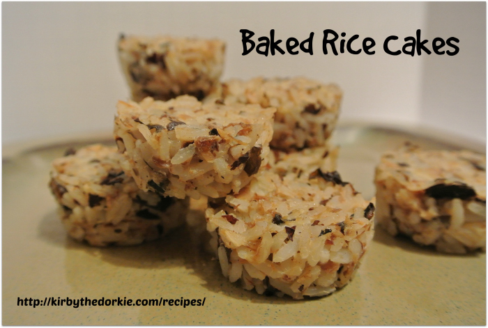 Baked Rice Cakes