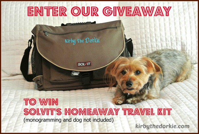 Solvit Homeaway Travel Organizer Giveaway