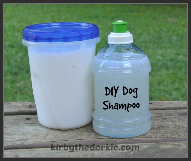 DIY Castile Dog Shampoo