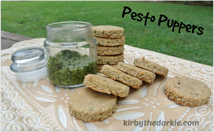 Pesto Puppers Treats