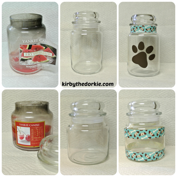 Candle Jar Collage