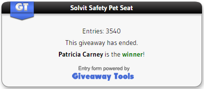 Solvit Pet Safety Seat Winner