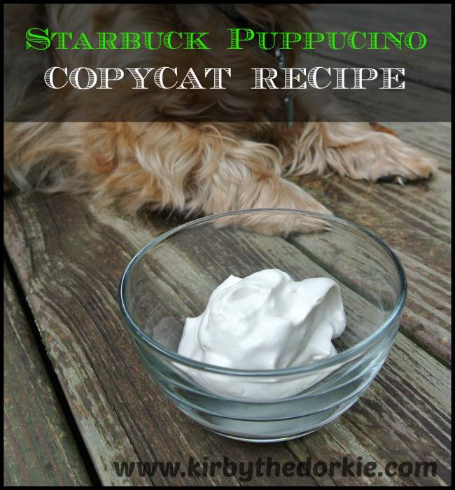 Starbuck's Puppucino