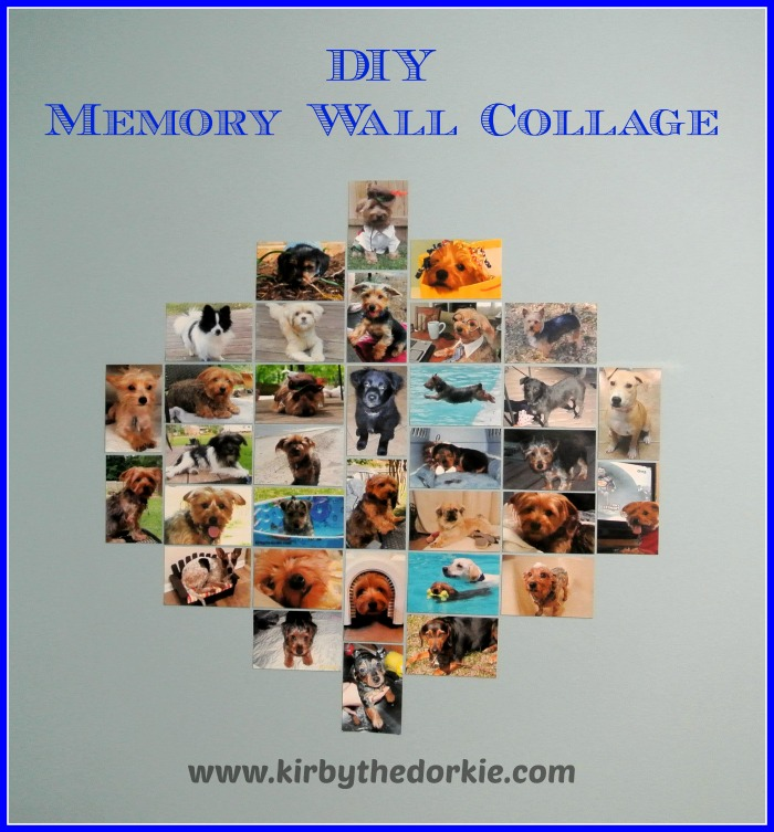 Memory Wall Collage